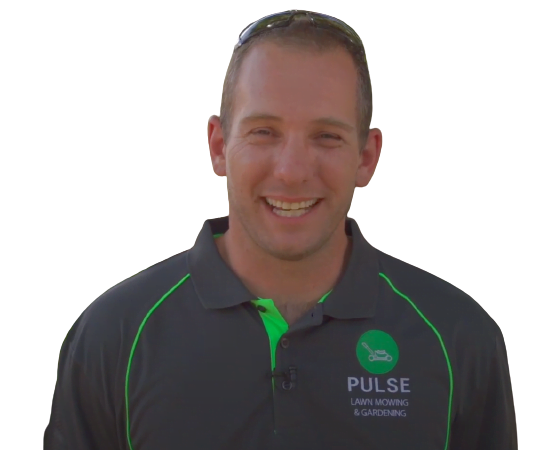 pulse lawn mowing and gardening operator